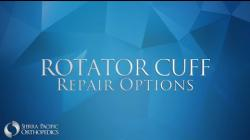 Rotator Cuff Repair Options: Michael Nuzzo, M.D.